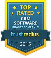 TrustRadius Top Rated CRM Software for Mid-size Companies 2015