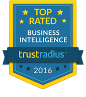 2016 Top Rated Business Intelligence Software Badge