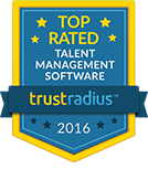 TrustRadius Top Rated Talent Management Badge for 2016