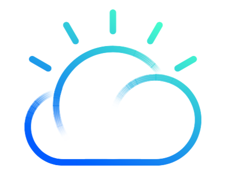 IBM Cloud IaaS (formerly IBM Bluemix - IaaS) logo
