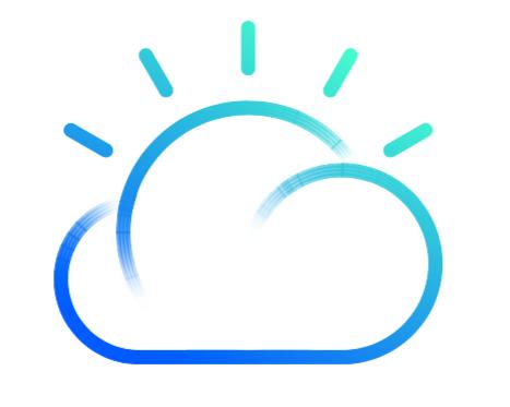 IBM Cloud IaaS (formerly IBM Bluemix - IaaS) logo