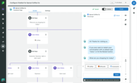Sprout's intuitive bot-building capabilities empower your team to automate certain steps to increase their efficiency.