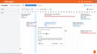 Percolate's integrated marketing calendar