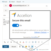 Send Secure Email with Ease from MS Outlook, Web or Mobile