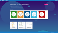 Start page of ARIS Elements.