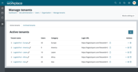 Manage centrally and delegate with ease: With Multi-Tenancy, you will be able to serve multiple entities (tenants) from a single installation. Whether you are a reseller, a company with branches around the world or a franchised organisation, you can easily manage entities separately with great flexibility and at a lower cost.
