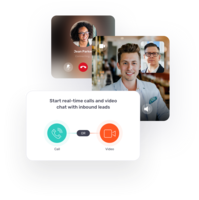 Start Real-Time Calls and Video Chat With Inbound Leads