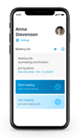 Host and join meetings, and access key collaboration features wherever you go with the AnyMeeting mobile apps. Available for Android & iOS