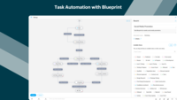 Task Automation with Blueprint - Map out your entire workflow with no code as flowcharts. Automate your tasks and notifications and set approval criteria with blueprint.