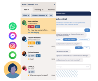 Centralized Customer Care - Manage all channels in one universal queue with Sparkcentral's easy-to-use Agent Desktop.