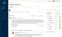 Mavenlink Project Collaboration Dashboard