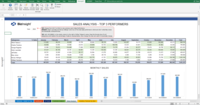 Analyze your sales team data within Excel