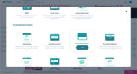 Dynamic Widget Library: Nudge visitors into action