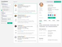 Candidate Page