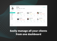 Manage all of your clients through WeStrive