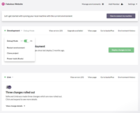 Umbraco Cloud environment overview