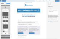 Mobile-Friendly Email Designer