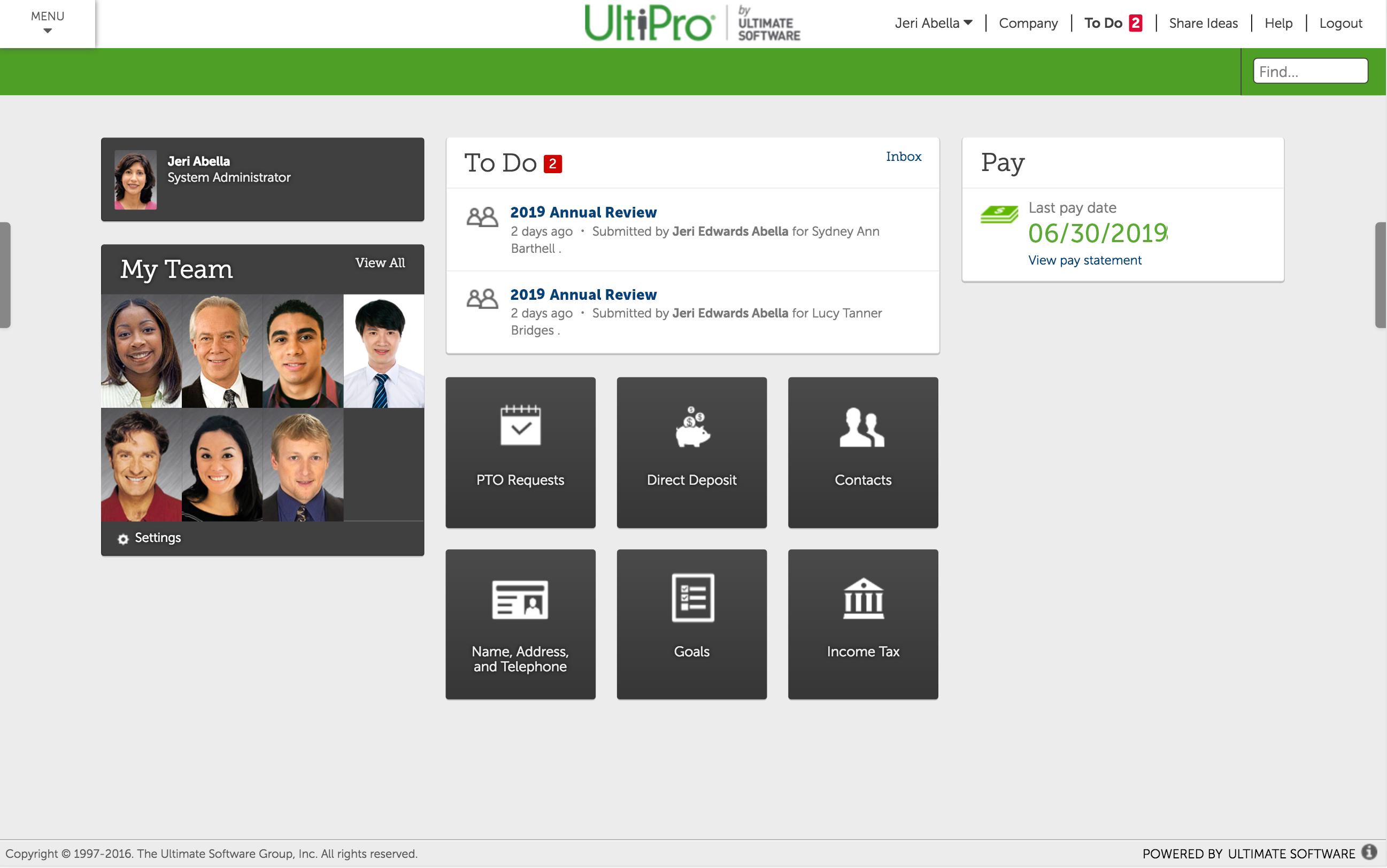 UltiPro Reviews & Ratings | TrustRadius