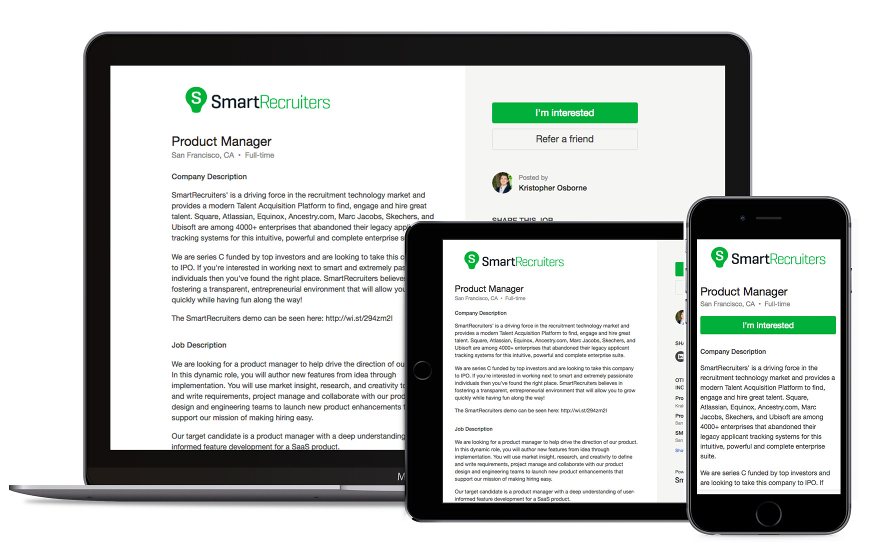 SmartRecruiters Reviews & Ratings | TrustRadius
