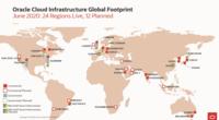 Oracle Cloud Infrastructure Global Footprint