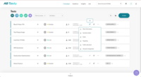 Dashboard: Manage all your campaigns in one place