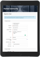 Partners can register deals with ease using existing fields in your CRM