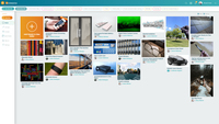 Innovation Cloud Ideas App Dashboard