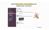 Have lively team conversations over Slack