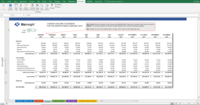 Build dynamic income statements within Excel