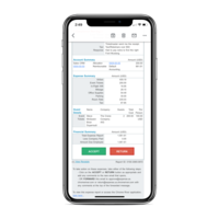 Approve expenses directly from your inbox with a single click