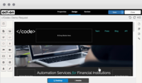 Landing Page Composer - Create beautifully designed landing pages with a drag and drop function