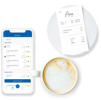 Capture receipts instantly on the Webexpenses mobile app.