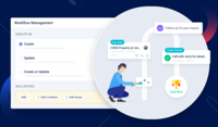 Workflow automation can automate touchpoints, outreach, and more. Keep your team focused on what they need to do without having them to complete manual tasks.