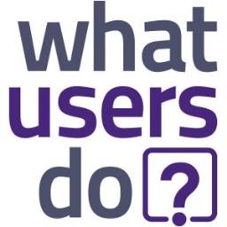 WhatUsersDo logo